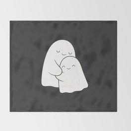 Ghost Hug - Soulmates Throw Blanket