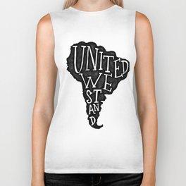 South America - United we stand Biker Tank