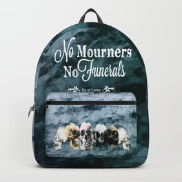 No Mourners - White Backpack