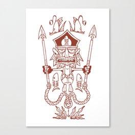 Captain Seabutcher Canvas Print