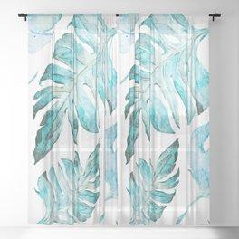 love tropical Sheer Curtain