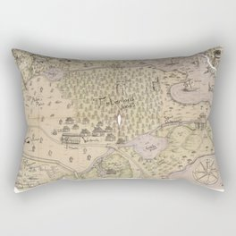 Rough Terrain Rectangular Pillow