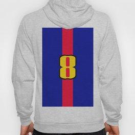 football team 1 number eight Hoody