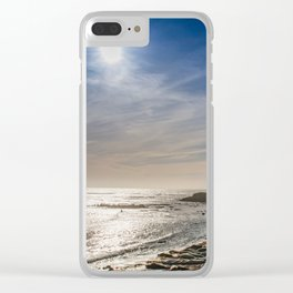 Sunstar at Ano Nuevo State Reserve California Clear iPhone Case