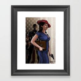 Secret Agent Framed Art Print