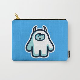 Kawaii Cute Abominable Snowman Yeti Carry-All Pouch