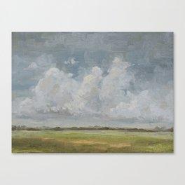open sky 1 Canvas Print