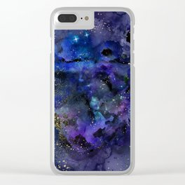 Spellbound Starry Night Clear iPhone Case