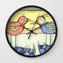 The Muslim Next Door Wall Clock