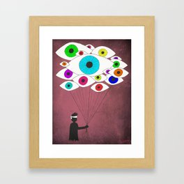 Paranoia  Framed Art Print