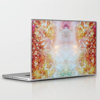 holographic Laptop & iPad Skins featuring Gemstone by Danielle Delceppo