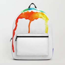 Rainbow Splatters Backpack