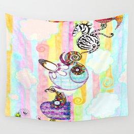 Animal Chain II Wall Tapestry
