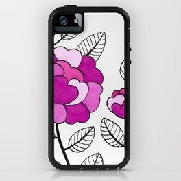 Rosette Mauve iPhone Case