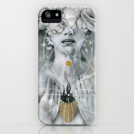 Compassion (Blessed Are The Meek) iPhone Case