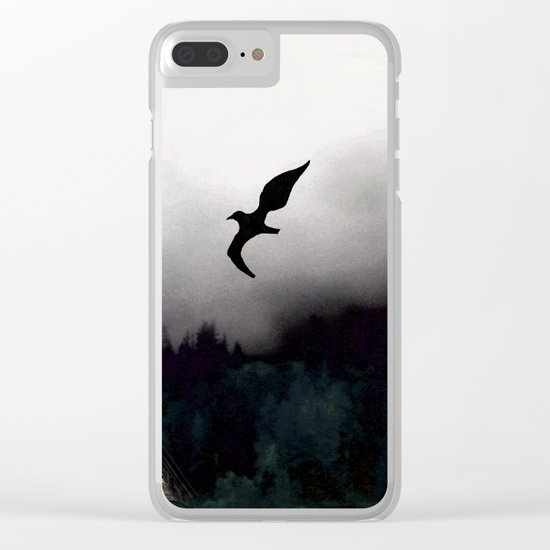 The house of Nevermore Clear iPhone Case