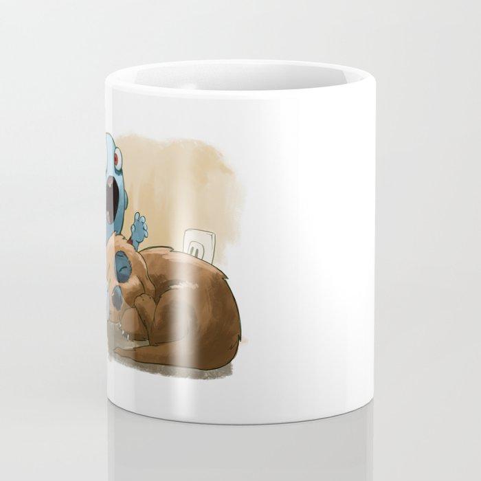 Zombies like to bite stuff too. Coffee Mug
