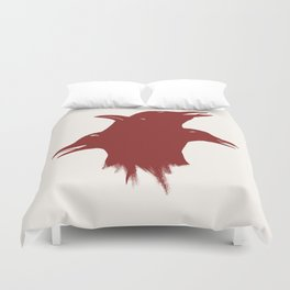 A Murder of Crows Duvet Cover