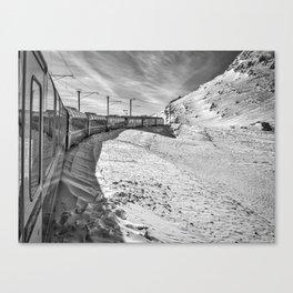 Locomotive. Canvas Print