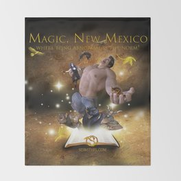 Magic, New Mexico Throw Blanket