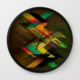 Extra Colors Wall Clock