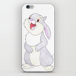 thumper from bambi iPhone Skin