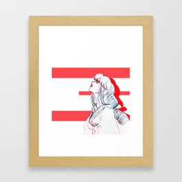 A Tragic Love Framed Art Print