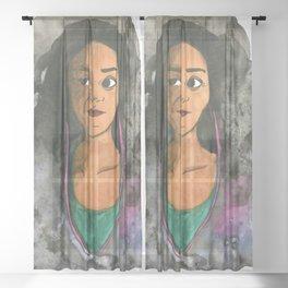 Bad Music Sheer Curtain