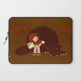 Bossy Red Riding Hood Laptop Sleeve