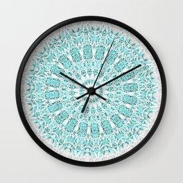 A Glittering Mandala Wall Clock