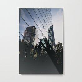 FiDi Lens Metal Print