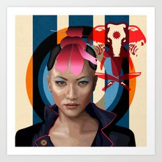 Queen of Darkness Far Cry 4 -  Yuma Art Print