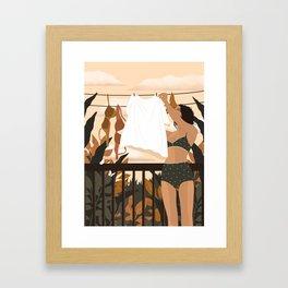 Mundane Morning Framed Art Print