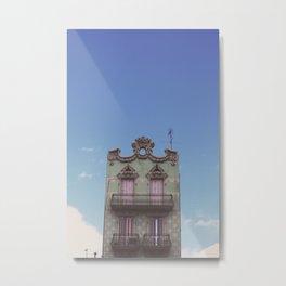 Green House Metal Print