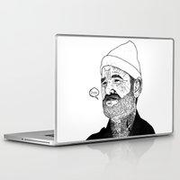 zissou Laptop & iPad Skins featuring Team Zissou by John C Thurbin