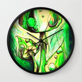Entheogenic Wall Clock