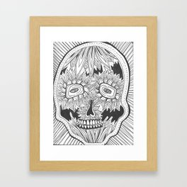 dia de los meurtos Framed Art Print