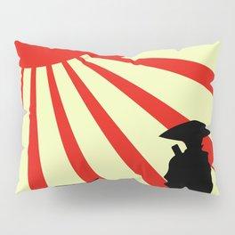 Japanese Art Sun Samurai Warrior Bushido Martial Arts Pillow Sham