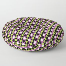 Multicolor Checkboxes Floor Pillow