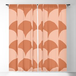 Cleo Pattern - Sunset Blackout Curtain