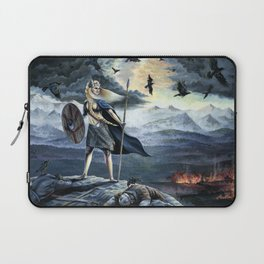 Valkyrie and Crows Laptop Sleeve