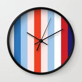 8 Color Combination Wall Clock