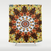 southwest Shower Curtains featuring southwest pattern by North 10 Creations