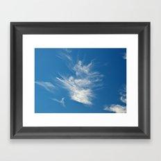 Dancing Sky Framed Art Print