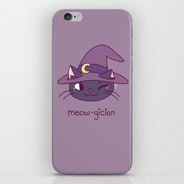 Meowgician iPhone Skin