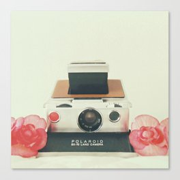 Polaroid Memories Canvas Print