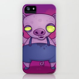 Zombie Pig iPhone Case