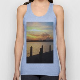 Dockside Dreaming Unisex Tank Top
