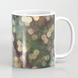 Magical Lights Gold Dots Coffee Mug