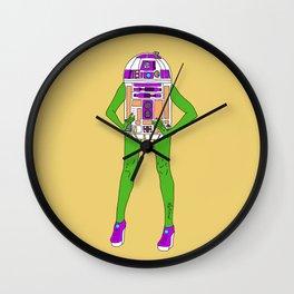 Alien Robot Cosplay Wall Clock